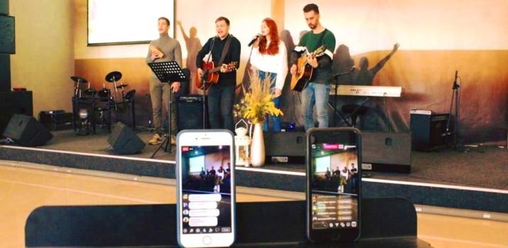 Онлайн служіння церкви